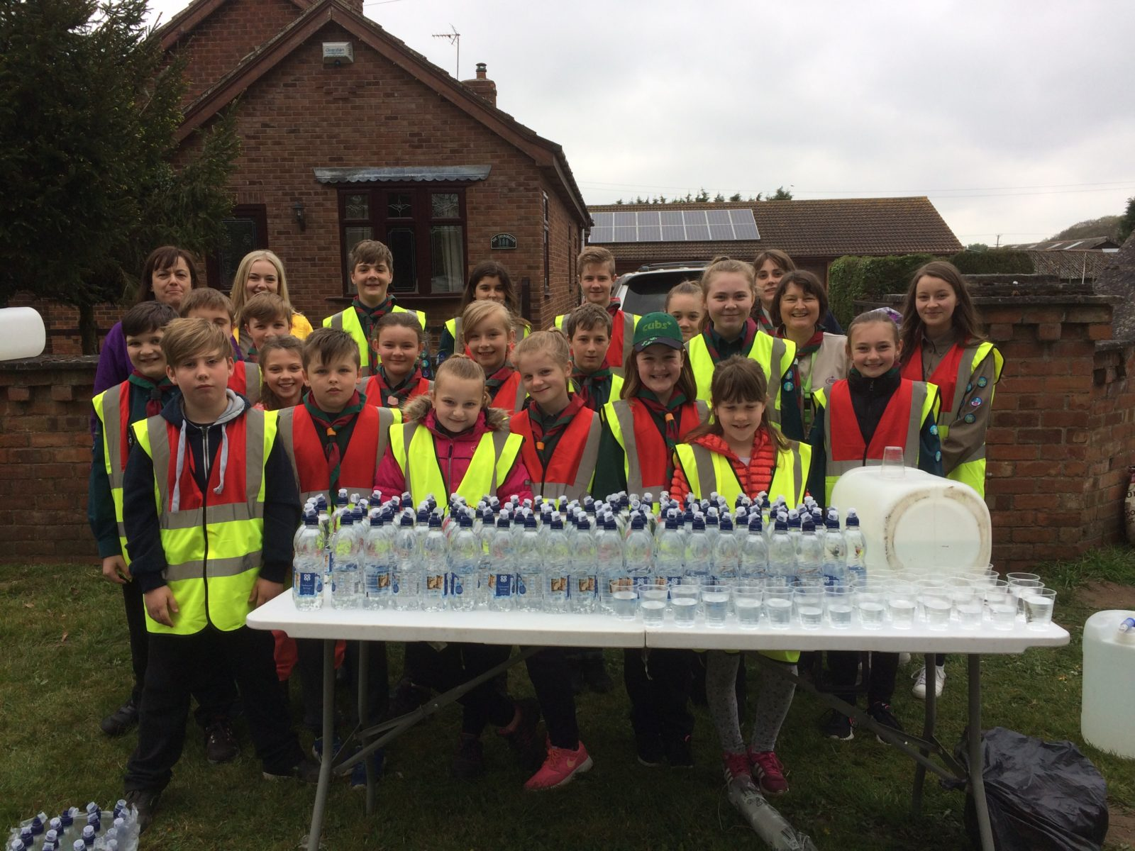 16TH SCUN WATER STATION 2017